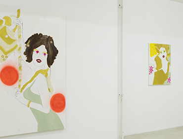 Juicy particles | Caprice Horn Gallery | Berlin | 2009 | Alona Harpaz
